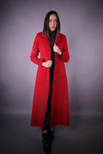 Manteau Long • Rouge - OUTLET