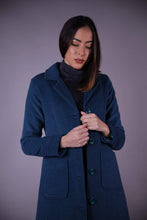 Manteau Long • Turquoise - OUTLET