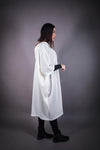 HNA collection Pull Cape blanc cassé - OUTLET