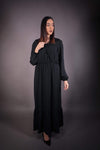 HNA collection Robe Robe longue •  noir