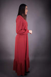 HNA collection Robe Robe longue • rouille