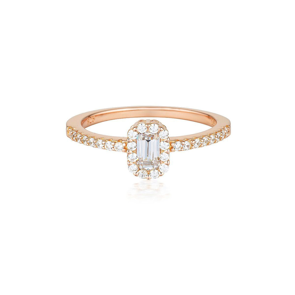 Georgini Paris Rose Gold Ring Bevilles Jewellers