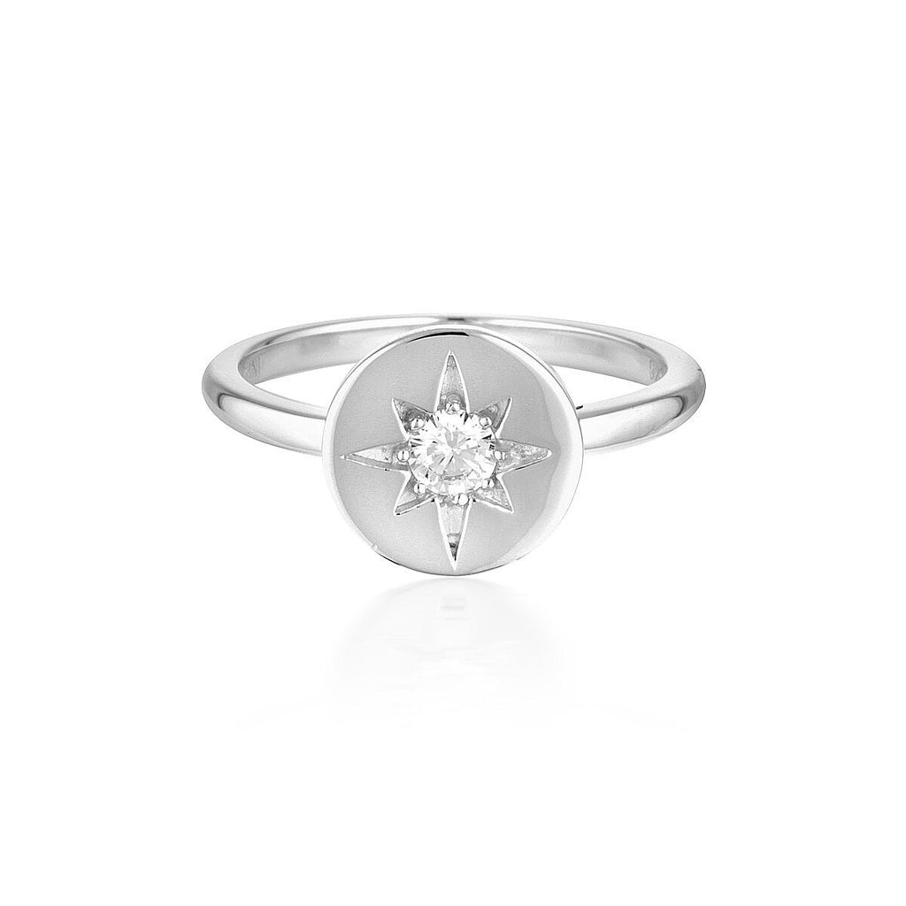 STELLAR LIGHTS SILVER RING Bevilles Jewellers