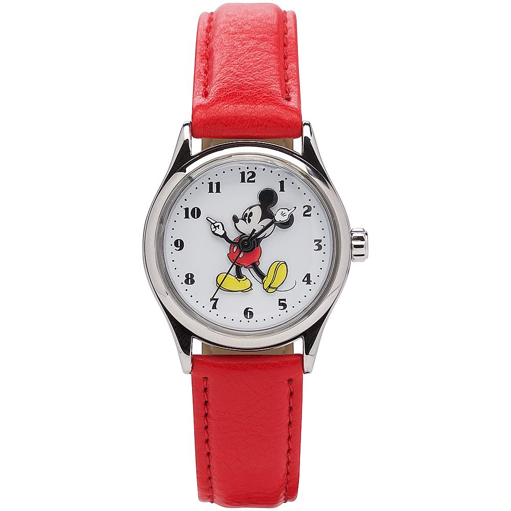 Disney Original Mickey Mouse 34mm Red Watch Watches Disney