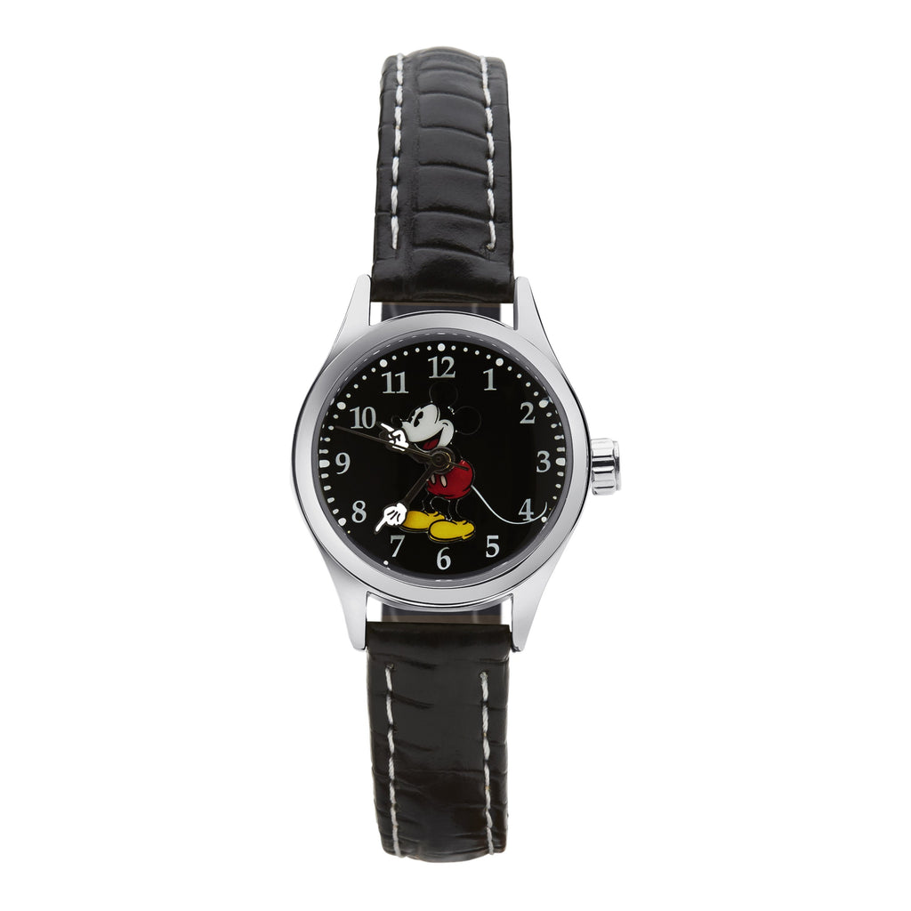 Disney Petite Mickey Mouse Croco 25mm Watch Watches Disney