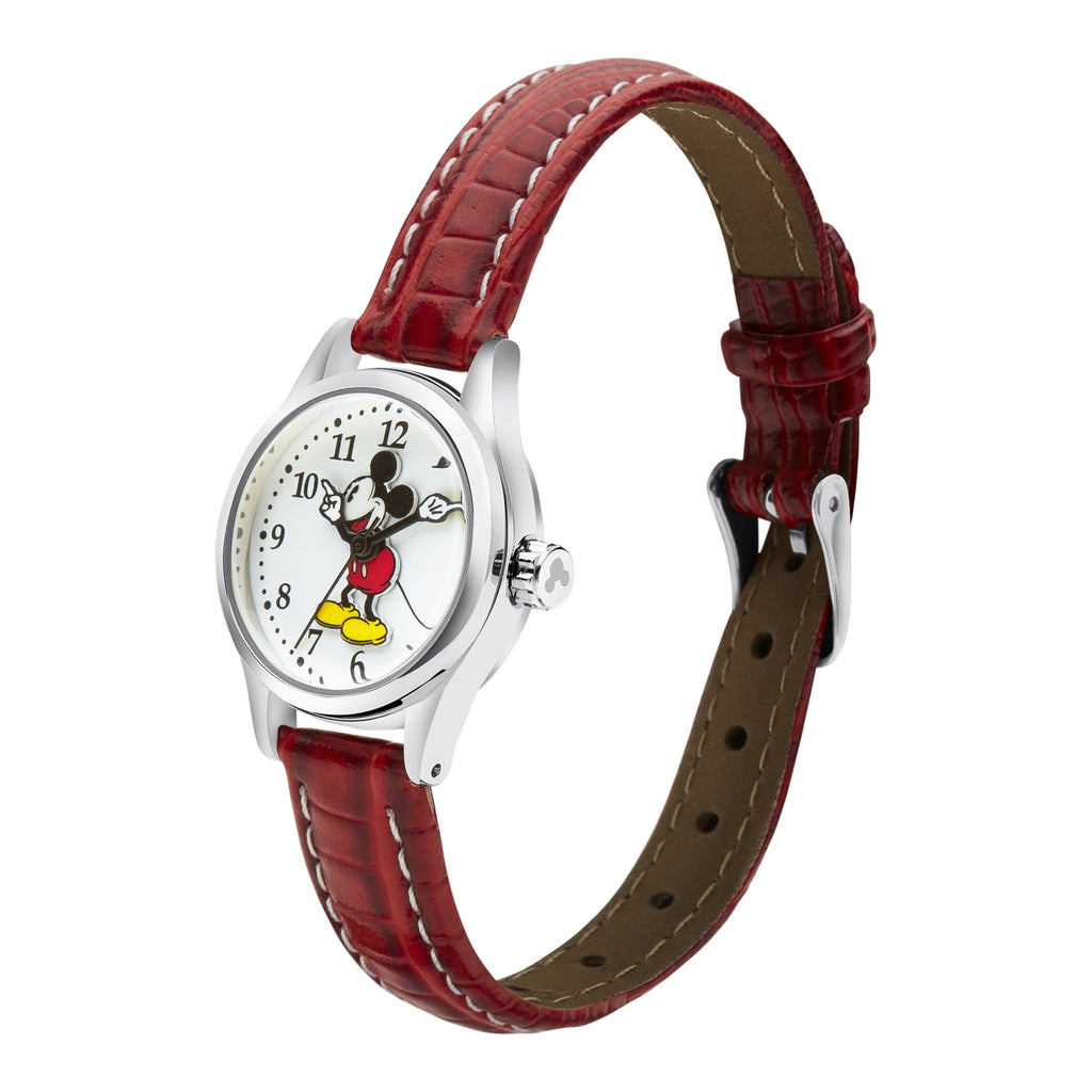 Disney Petite Mickey Mouse Croco Watch Watches Disney
