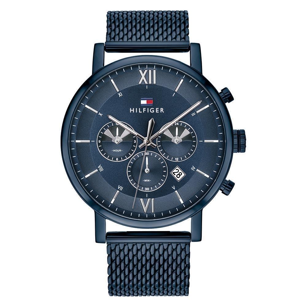 Tommy Hilfiger Evan Multifunction Blue Watch 1710397 Watches Tommy Hilfiger