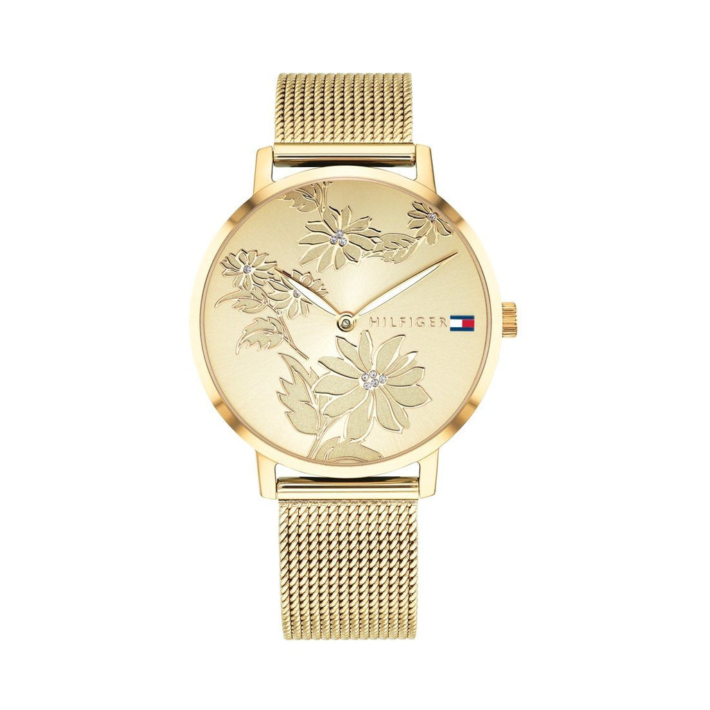 Tommy Hilfiger Gold Ladies Watch Model 1781921