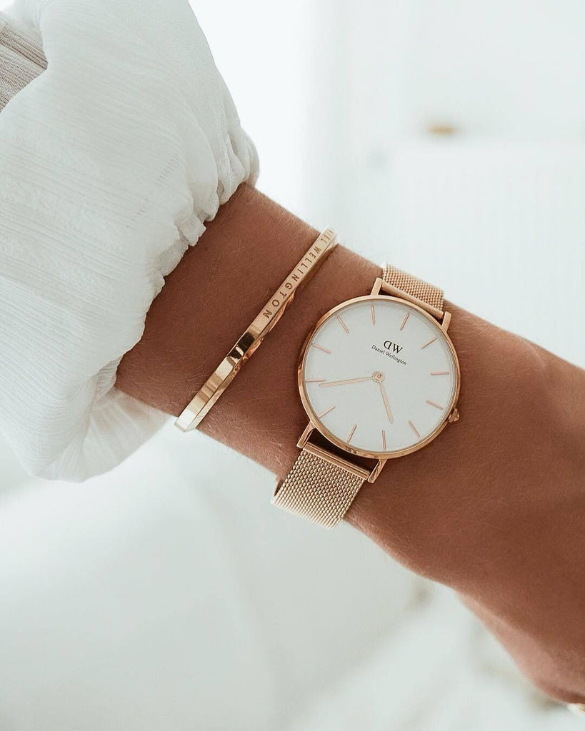 Daniel Wellington Classic Petite Melrose 32mm Watches Daniel Wellington