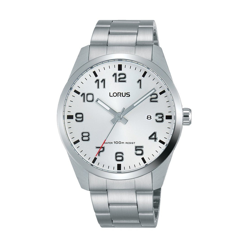 Lorus Men's Silver Watch Model RH977JX-9 Watches Lorus