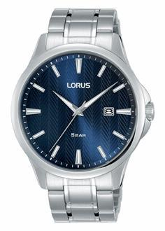 Lorus Men's Blue Face Watch RH919MX-9 Watches Lorus