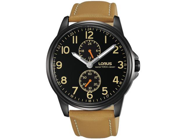 Lorus Gents Brown and Black Watch Model R3A03AX-9