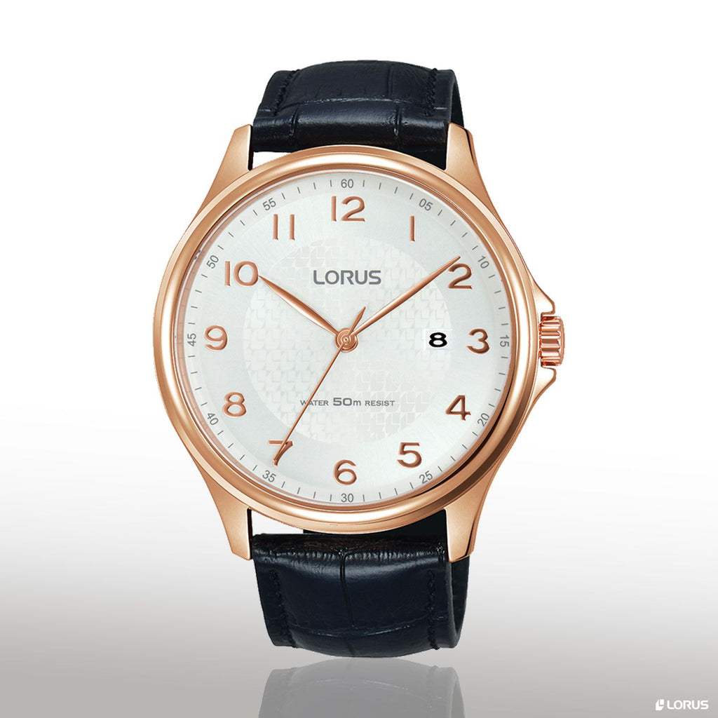 Lorus Gents Black Watch Model RS982CX-9 Watches Lorus