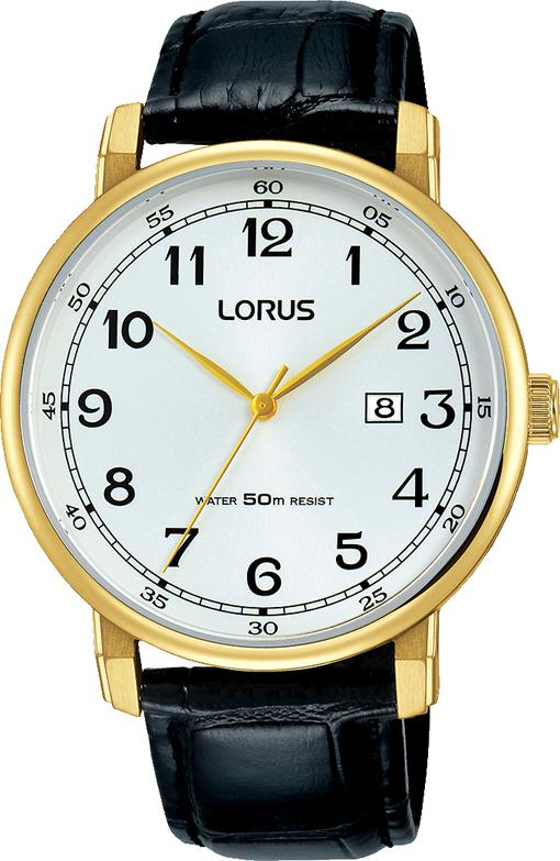 Lorus Gents Black Watch Model RH924JX-8 Watches Lorus