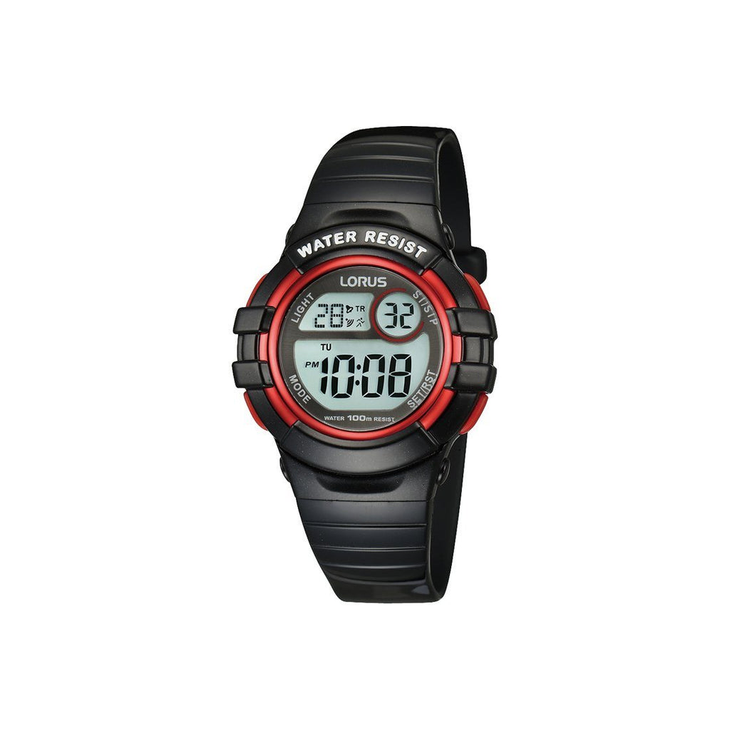 Lorus Youth Digital Watch Model- R2379HX-9 Watches Lorus