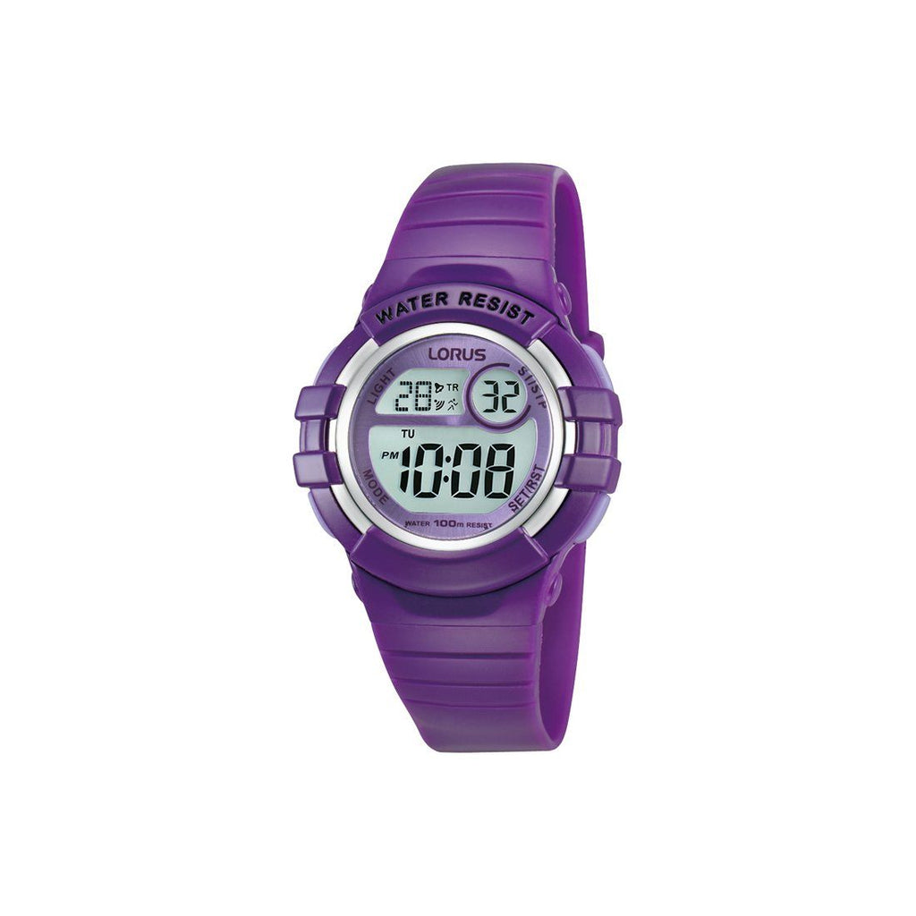 Lorus Youth Digital Watch Model- R2385HX-9 Watches Lorus