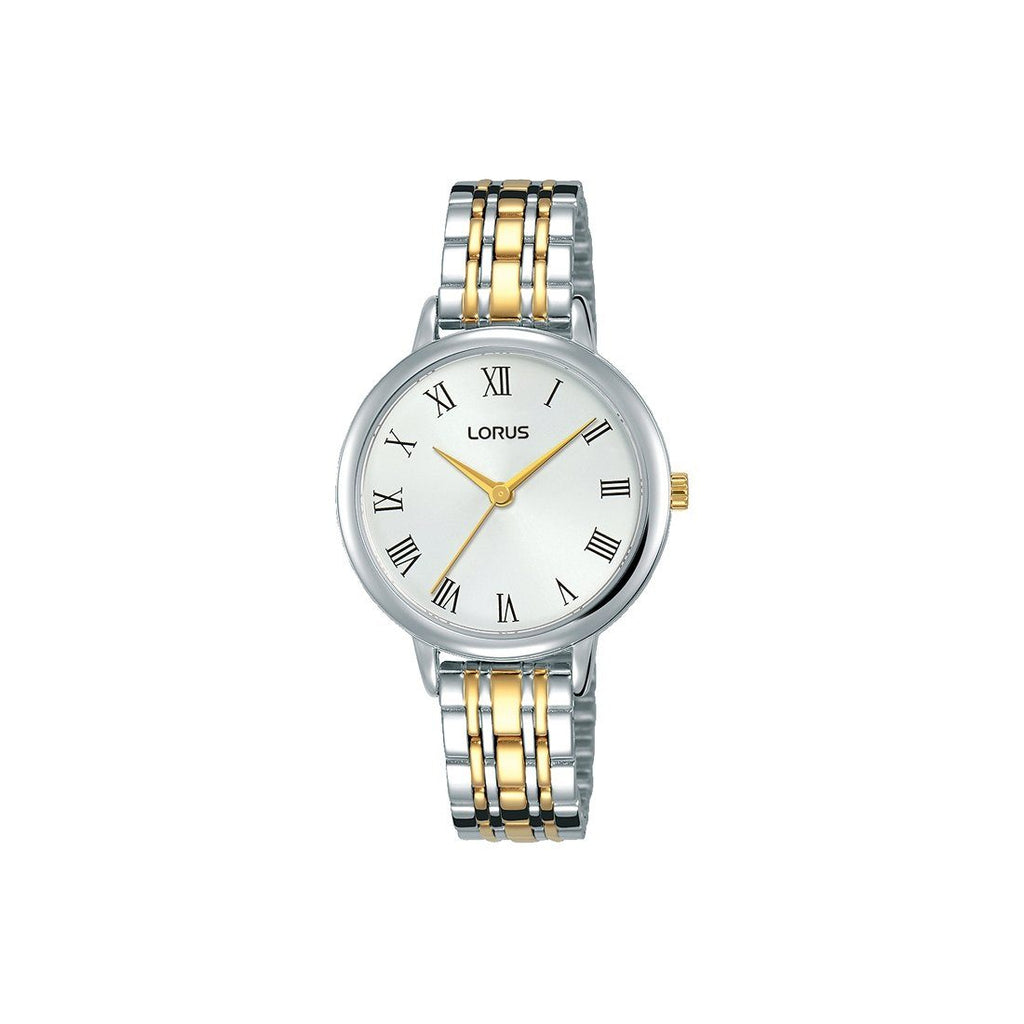 Lorus Ladies Two-Tone Watch RG203QX-9 Watches Lorus