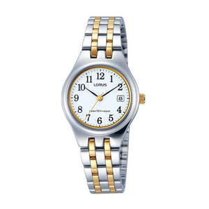 Lorus Ladies Two Tone Watch RH787AX-9
