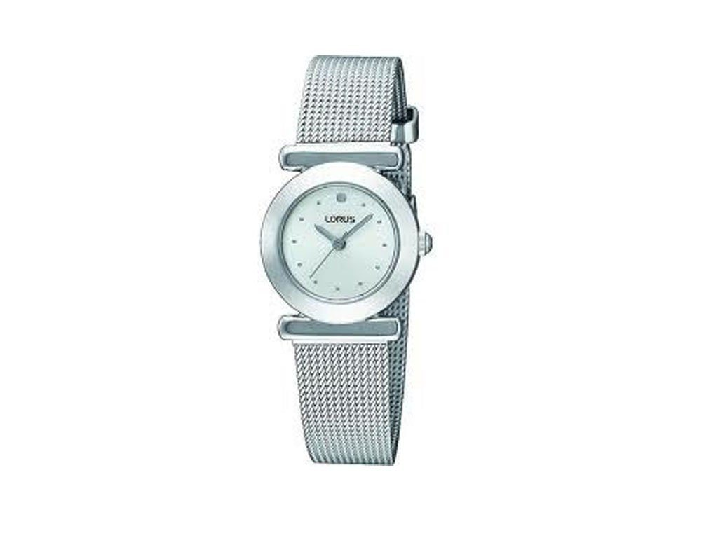 Lorus Ladies Silver Mesh Watch - RRS53RX-9