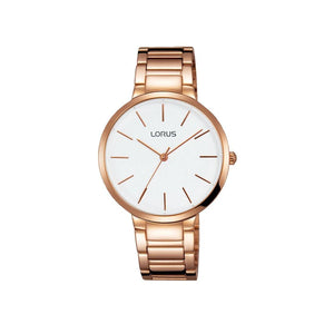 Lorus Rose Gold Watch RH806CX-9