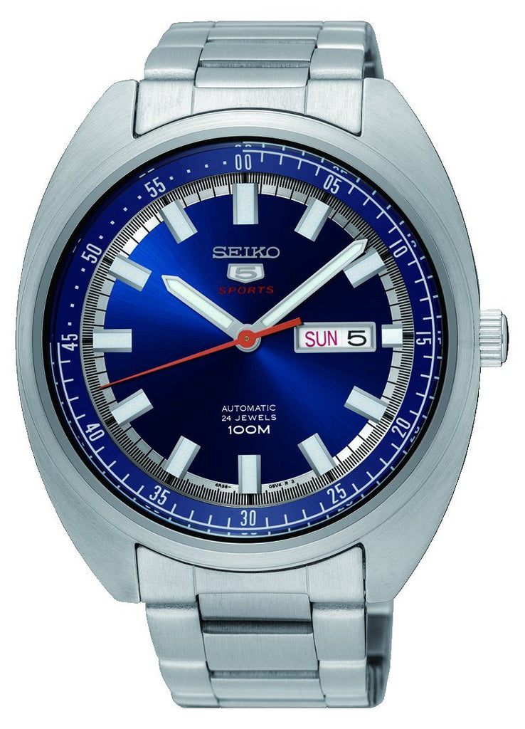 Seiko Automatic Blue Watch SRP15J Watches Seiko