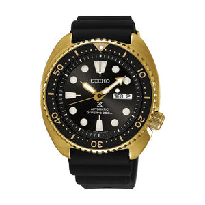 Seiko Prospex Men's Automatic Gold Case Watch SRPC44P