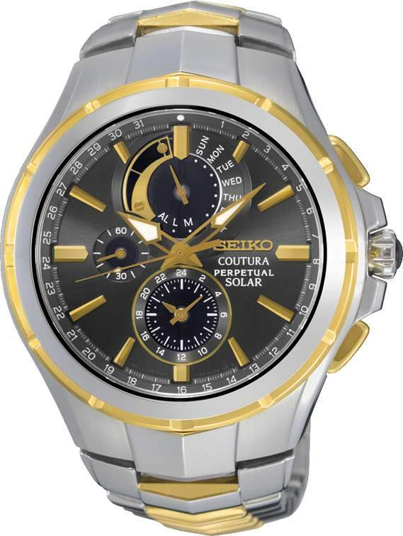 Seiko Coutura Mens Solar Watch SSC376