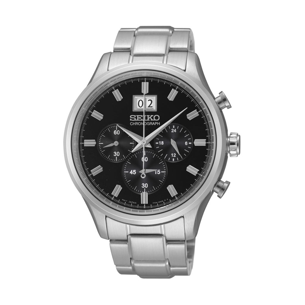 Seiko Mens Chronograph Watch SPC083P