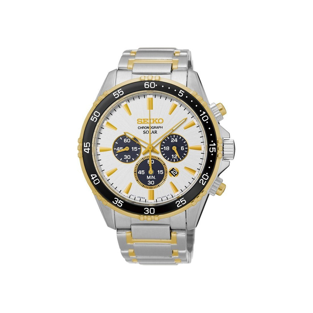 Seiko Men's Chronograph Solar Watch SSC446P-9