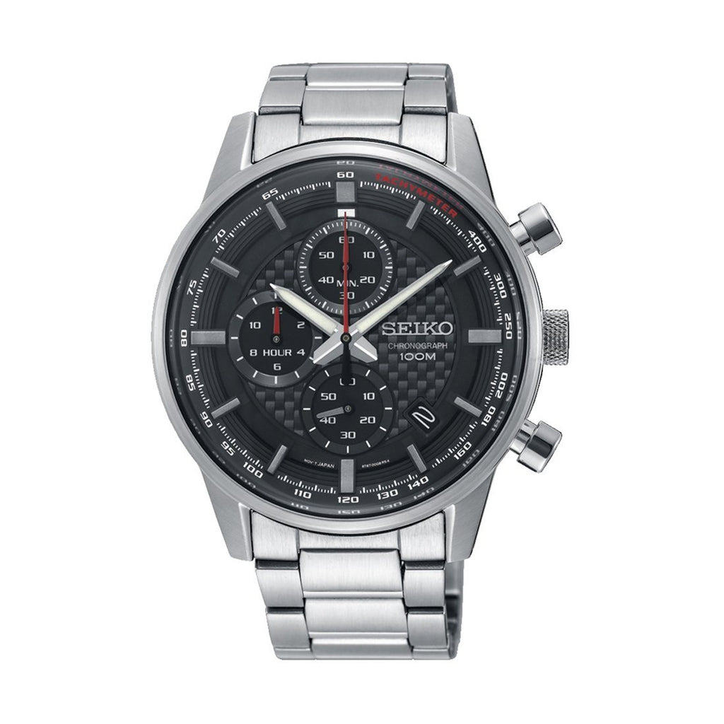 Seiko Chronograph Watch Model SSB313P