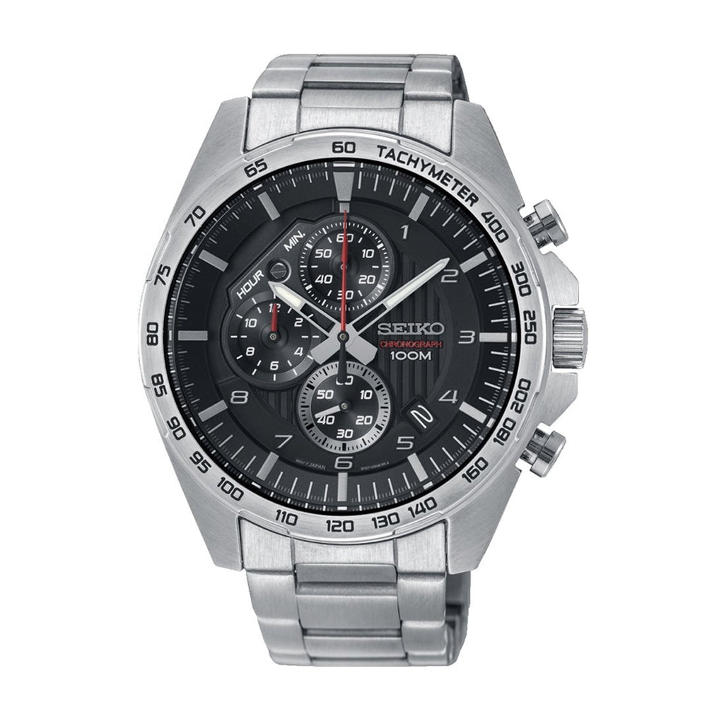 Seiko Mens Chronograph Watch Model SSB319P