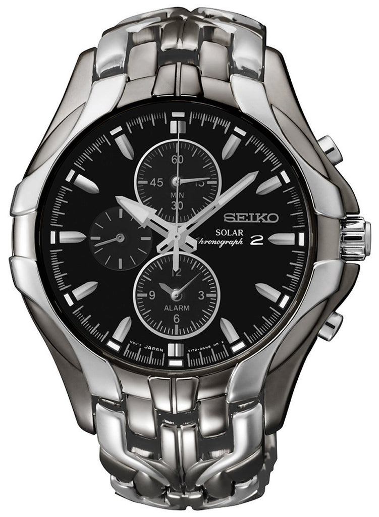 Seiko Mens Chronograph Watch Model- SSC139P-9 Watches Seiko