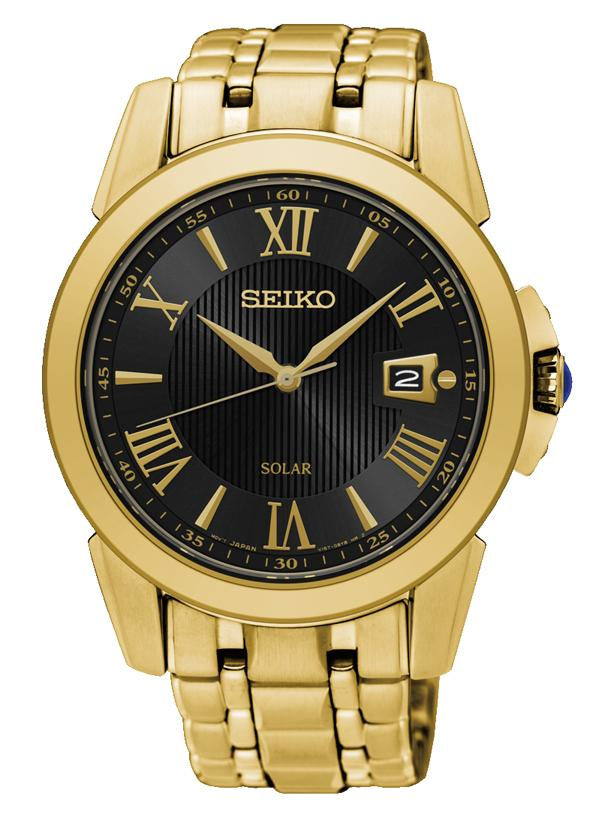 Seiko Le Grand Sport Gold Watch SNE468P Watches Seiko