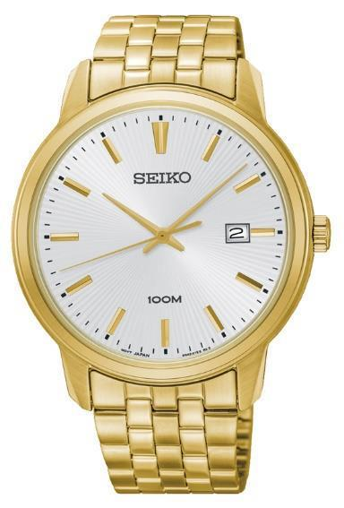 Seiko Gents Gold Watch Model SUR264P Watches Seiko
