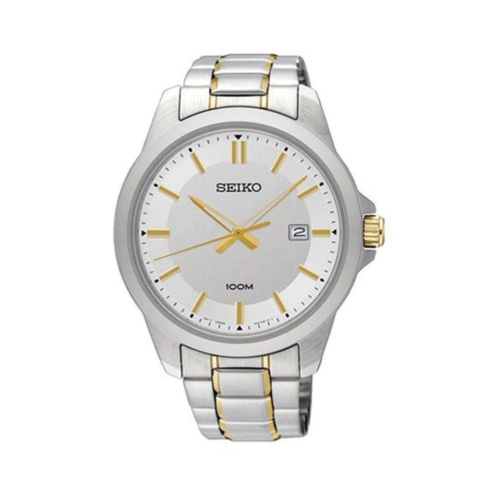 Seiko Mens Two Tone Watch SUR247P1