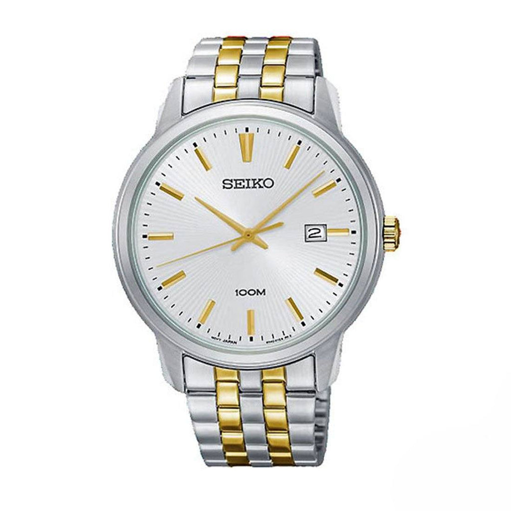 Seiko Two Tone Men's Stainless Steel Watch SUR263P Watches Seiko