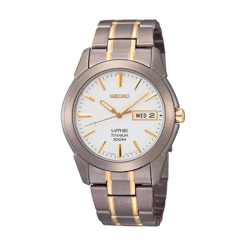 Seiko Men's Titanium Watch SGG733P Watches Seiko