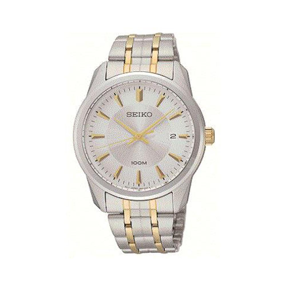Seiko Two Tone Silver Watch SGEG07P1