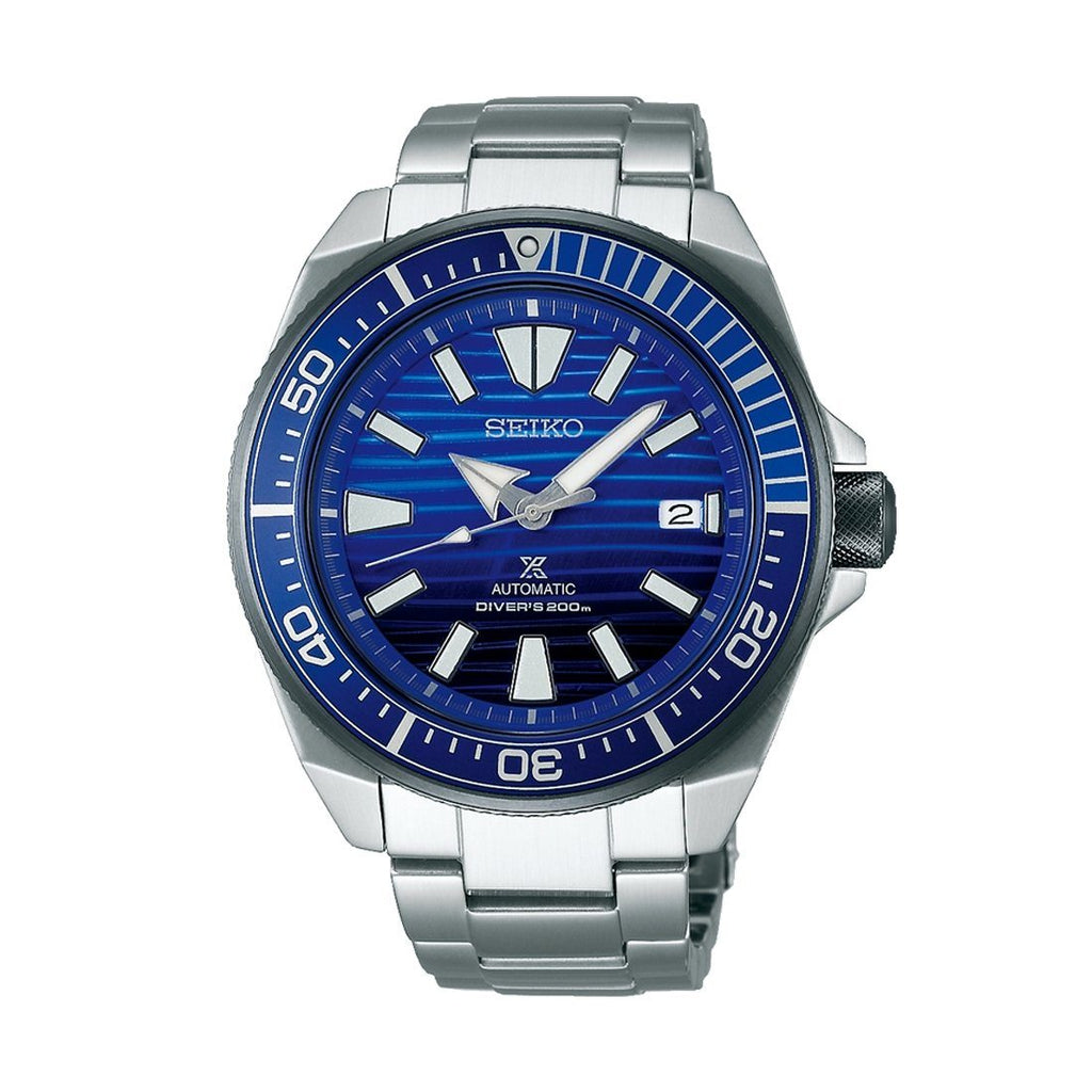 Seiko Prospex Mens 'Save the Ocean' 200m Divers Watch Model SRPC93K Watches Seiko