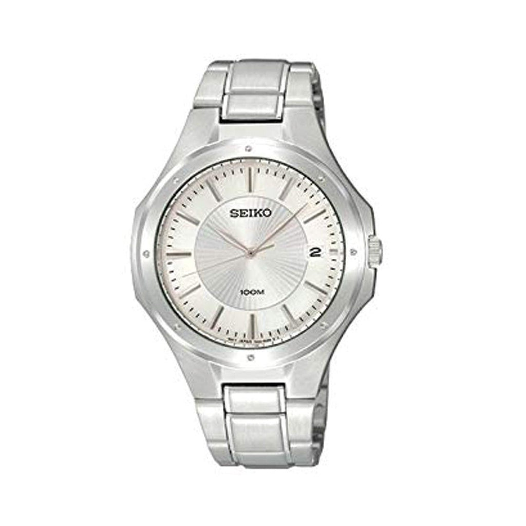 Seiko Mens Stainless Steel Watch SGEF59P1