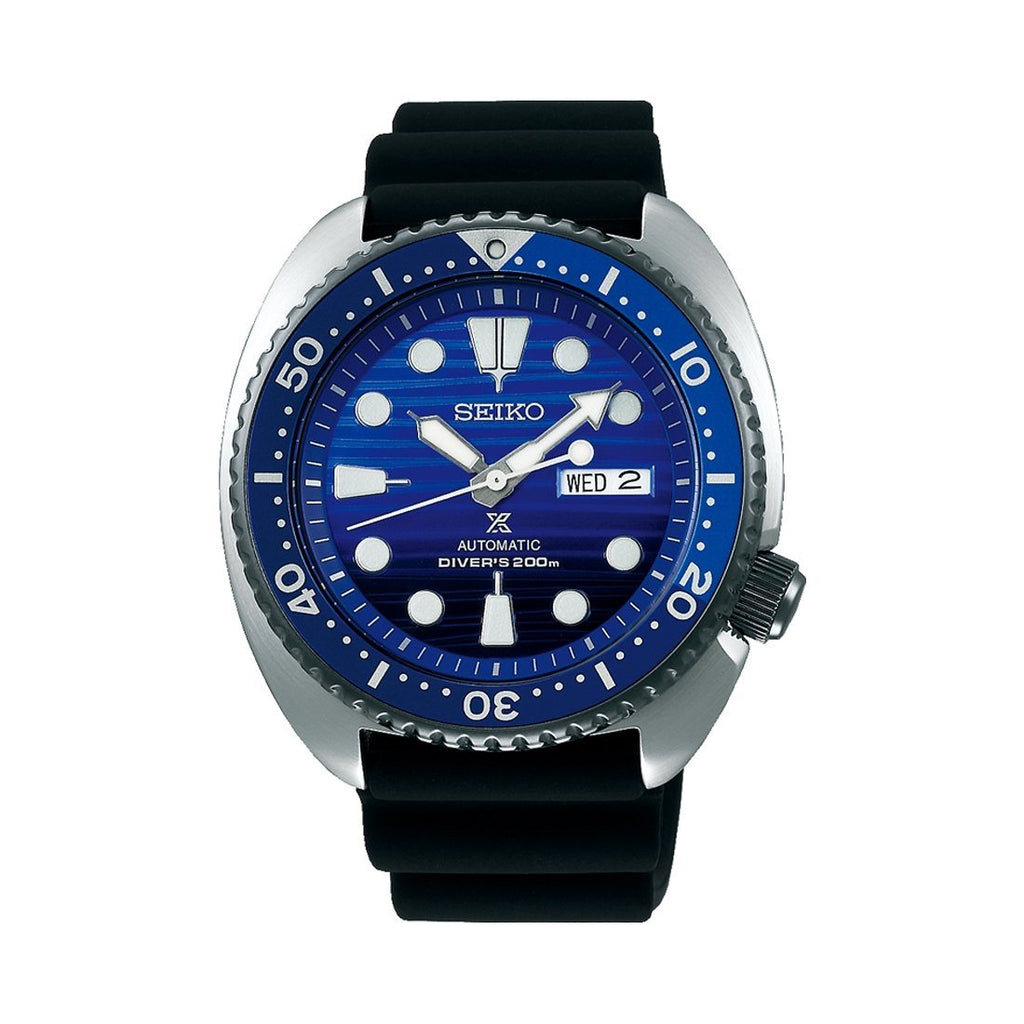 Seiko Mens Prospex 'Save the Ocean' 200m Divers Watch Model SRPC91K