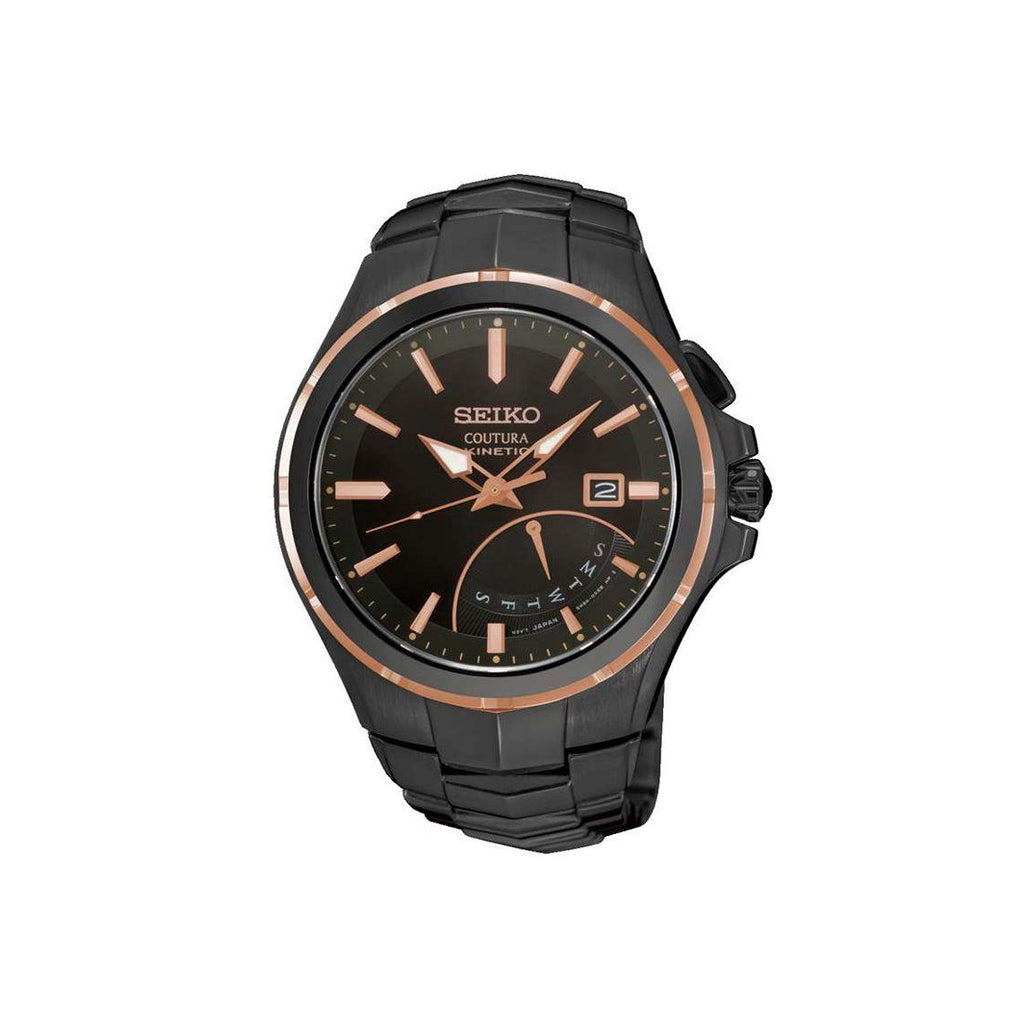 Seiko Coutura Kinetic Black Watch SRN066P-9