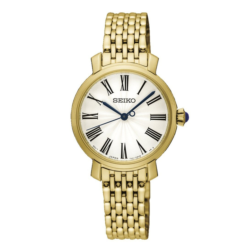 Seiko Ladies Gold Watch SRZ498P Watches Seiko