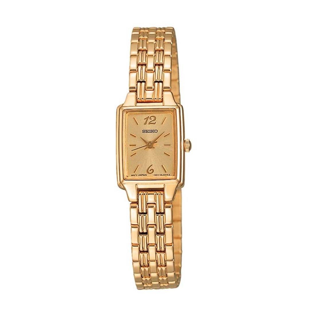 Seiko Ladies Gold Watch Model SXGL62P-9