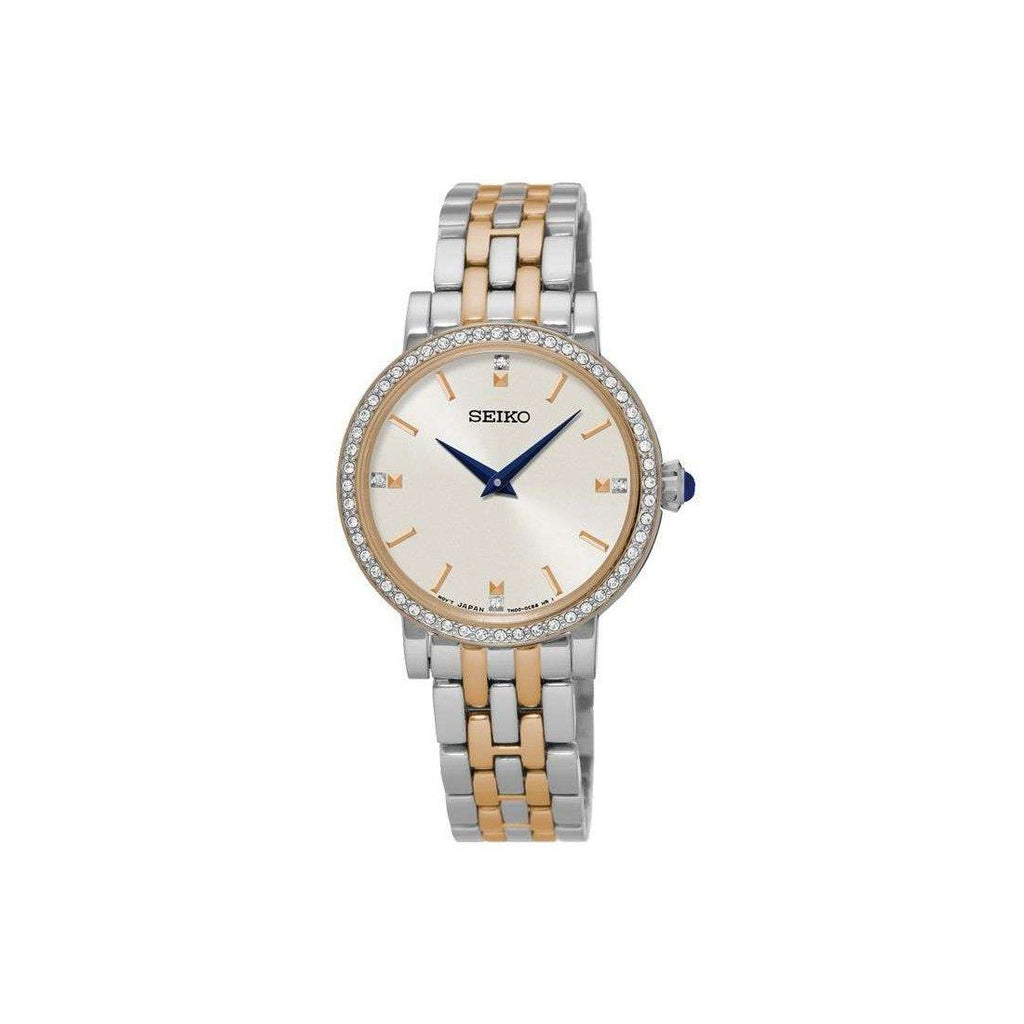 Seiko Ladies Two Tone Watch SFQ810P Watches Seiko
