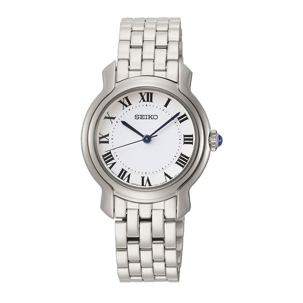 Seiko Ladies Silver Stainless-Steel Quartz Watch SRZ519P1