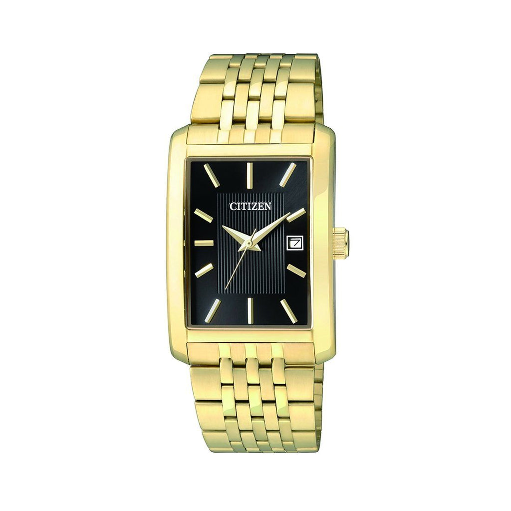 Citizen Men's Gold Rectangle Watch BH1673-50E