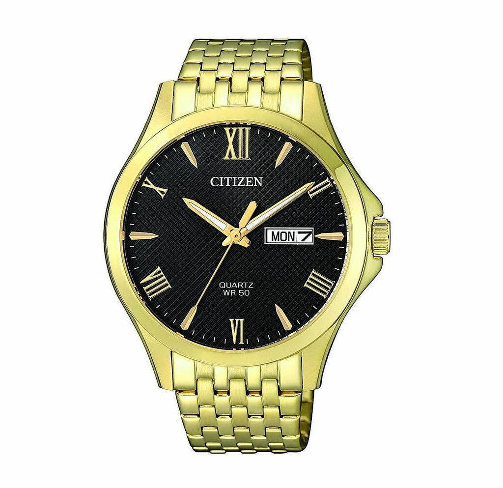Citizen Black Gold Watch BF2022-55H