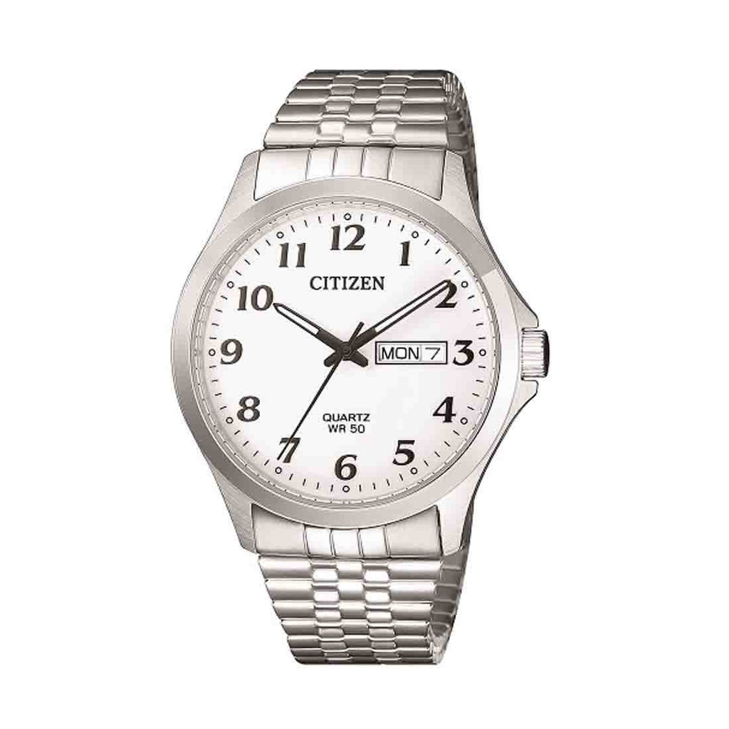 Citizen Men's Silver Stainless Watch Model BF5000-94A Watches Citizen