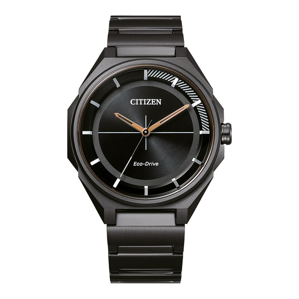 Ciiten Ecodrive Men's Black watch BJ6538-87E Watches Citizen
